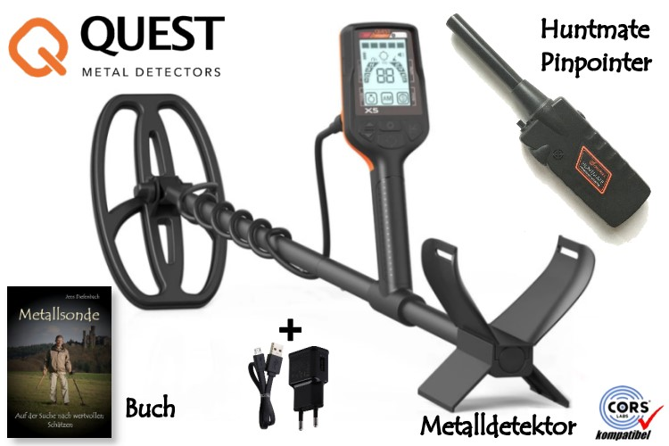 QUEST X5 Metalldetektor
