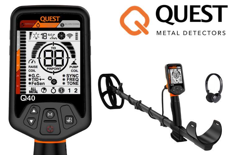 Quest Q40 Metalldetektor